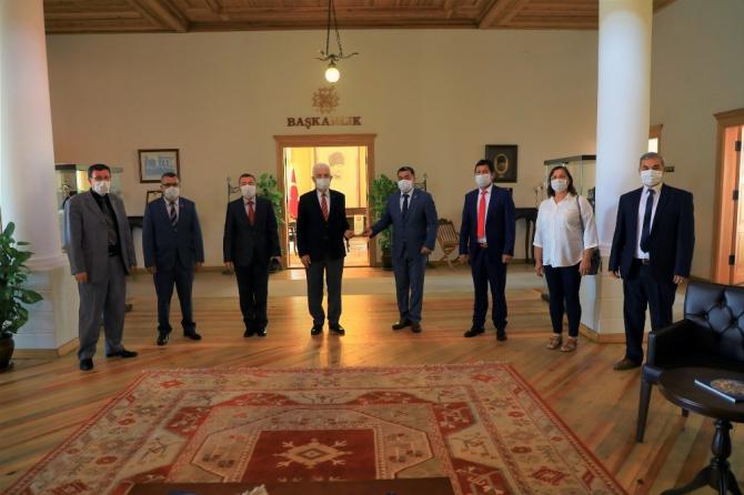 Muhtarlardan Başkan Gürün'e Pandemi teşekkürü