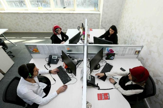 Bağcılar Belediyesi Çağrı Merkezinde pandemi sürecinde 256 bin 925 çağrıya cevap verildi