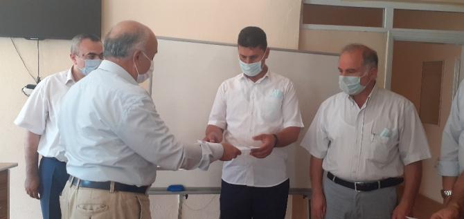 Osmancık'ta vefa ekibine başarı belgesi