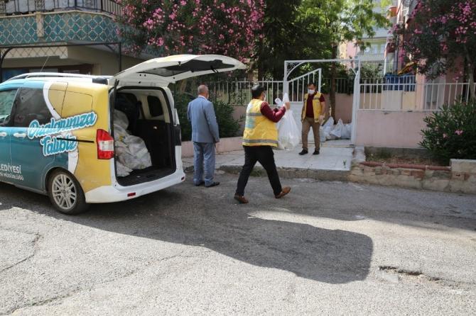Şanlıurfa'da karantinadaki vatandaşlara gıda desteği