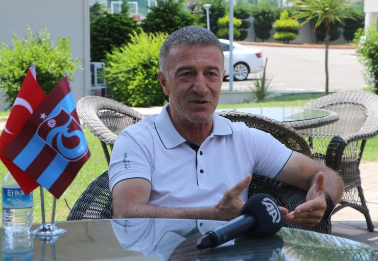 """Trabzonspor Kulübü Başkanı Ahmet Ağaoğlu: """"Kaybedilmiş hiçbir şey yok"""""""