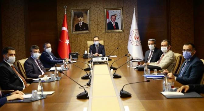 Başkan Tanış'ın Ankara temasları sürüyor