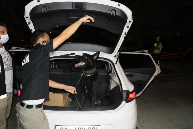 Narkotik polisi 2 gün üst üste hava destekli uygulama düzenlendi
