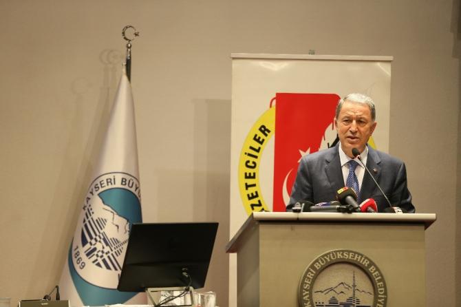 Başkan Büyükkılıç Kayseri Gazeteciler Cemiyeti ödül törenine katıldı