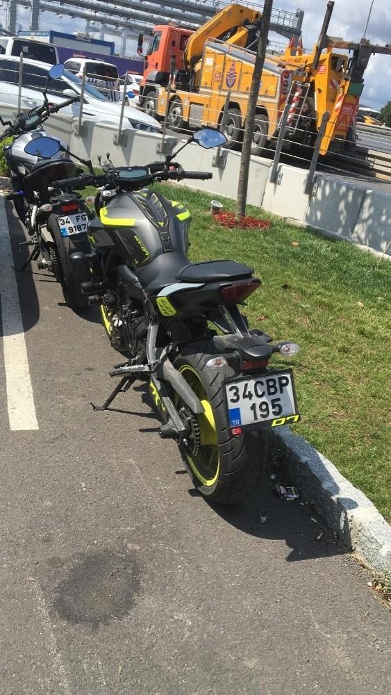E-5 Karayolu'nda dans eden motosikletli magandalara 5 bin lira ceza