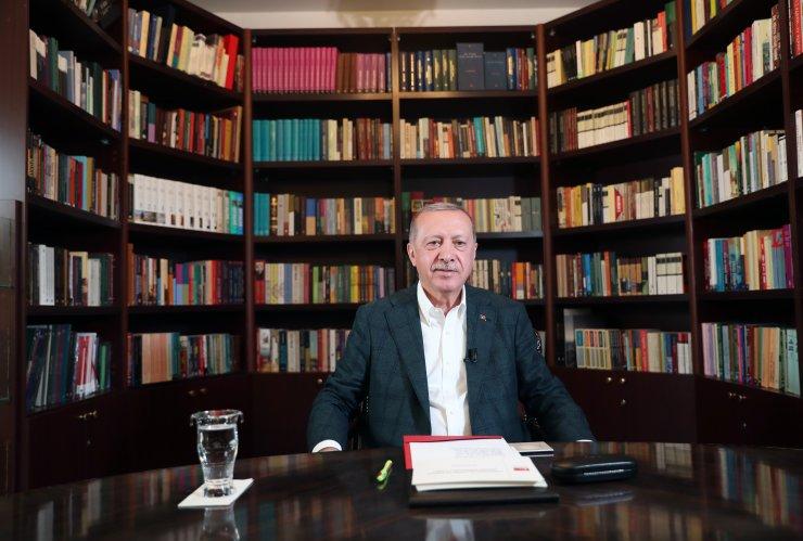 Cumhurbaşkanı Erdoğan, gençlerle video konferans yöntemiyle buluştu: (2)