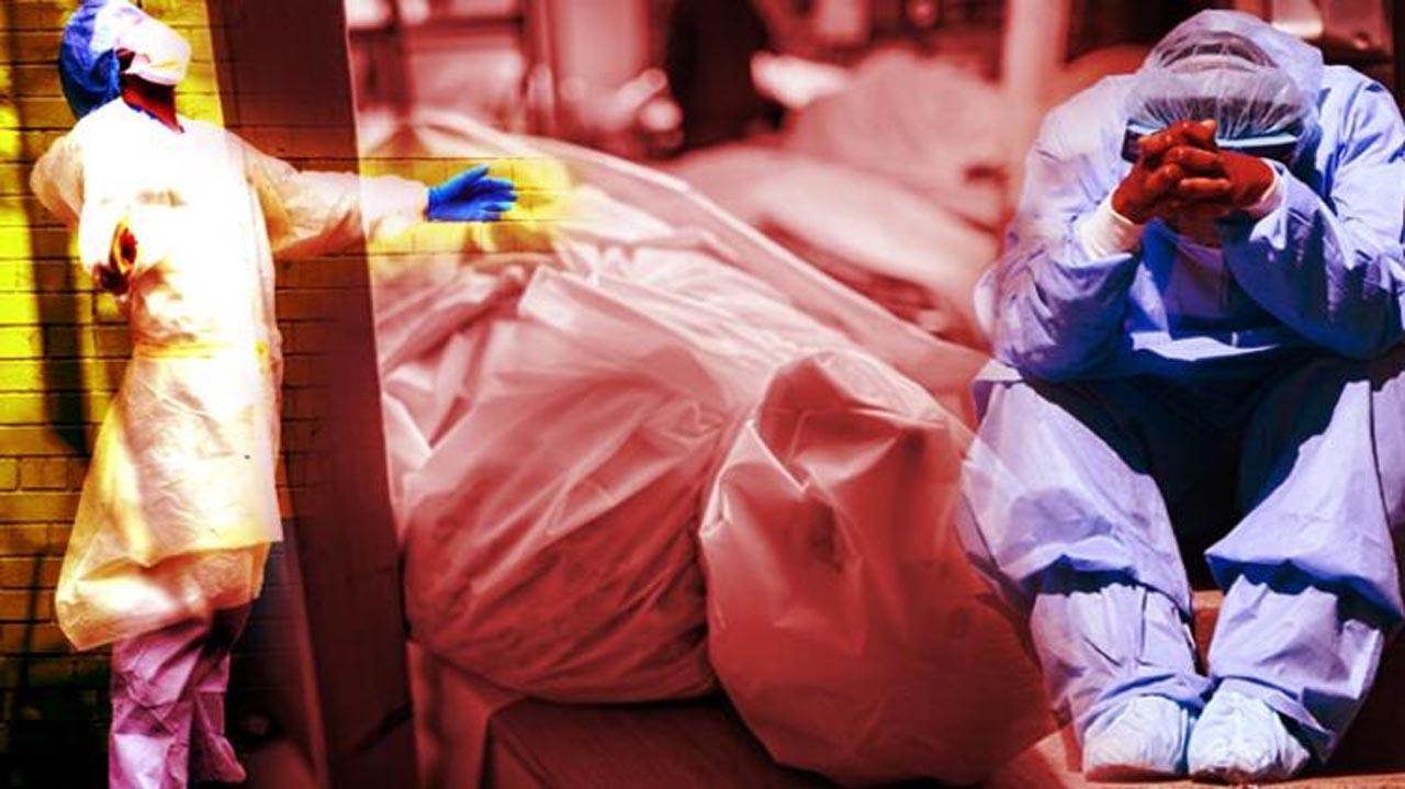 ABD aylardır kabustan uyanamıyor! Kovid-19 ölümleri son 24 saatte 368 arttı