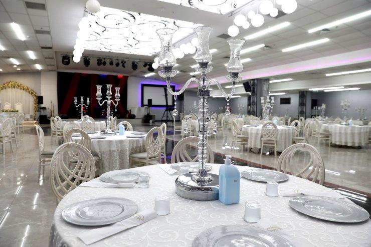 Düğün salonları normalleşme dönemi düğünleri için hazır