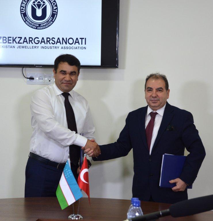"""Özbekistan'dan Türk kuyumculara """"iş birliği"""" çağrısı"""