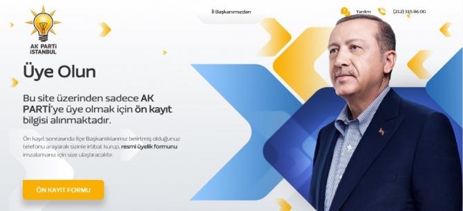 Ak Parti İstanbul'dan 100 bin yeni üye ve online üyelik hamlesi