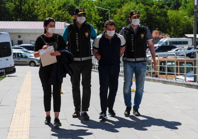 """""""Bataklık"""" operasyonu zanlıları Ankara Emniyet Müdürlüğüne getirildi"""