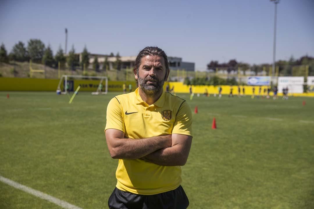Ankaragücü'nün yeni teknik direktörü İbrahim Üzülmez: Hedefimiz 5 maçta 15 puan
