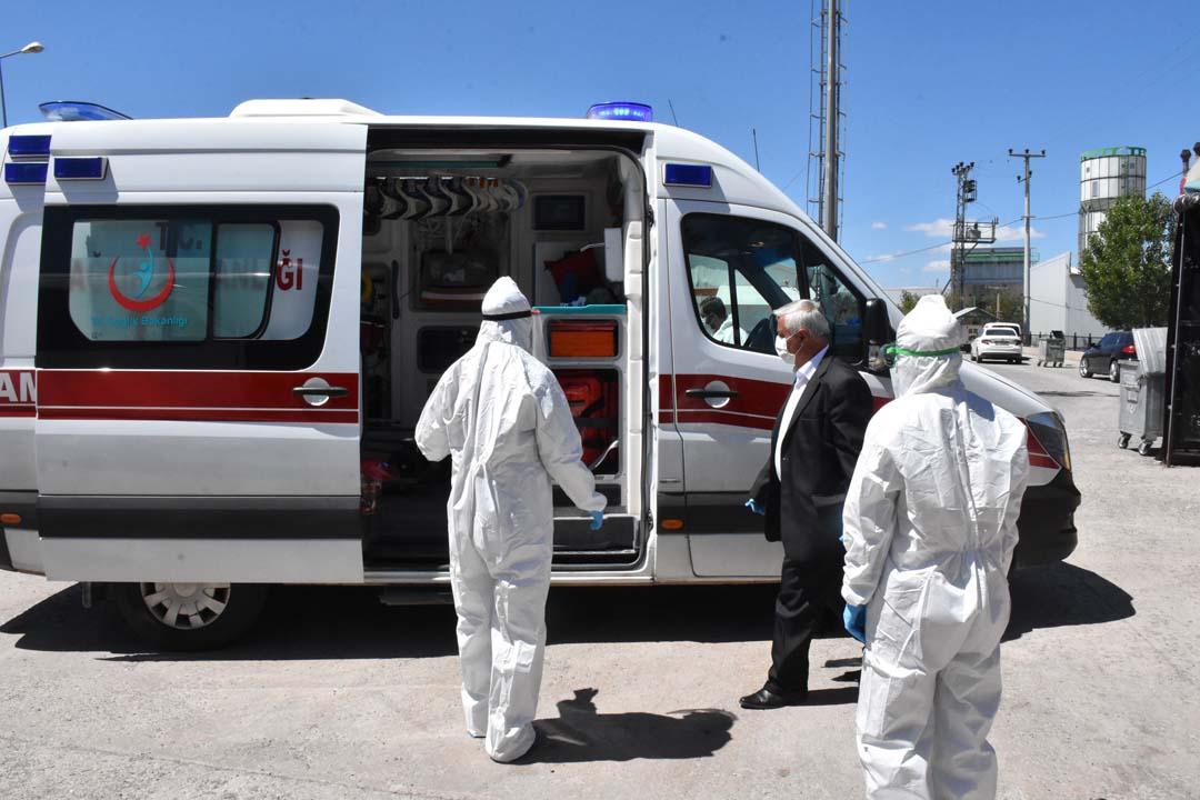 Sivas'ta yolcu otobüsünde koronavirüs şoku!