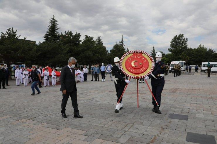 Atatürk'ün Erzincan'a gelişinin 101. yıl dönümü törenle kutlandı