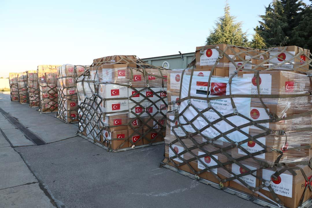Türkiye, Irak'a yardım elini uzattı! Malzemeler yola çıktı