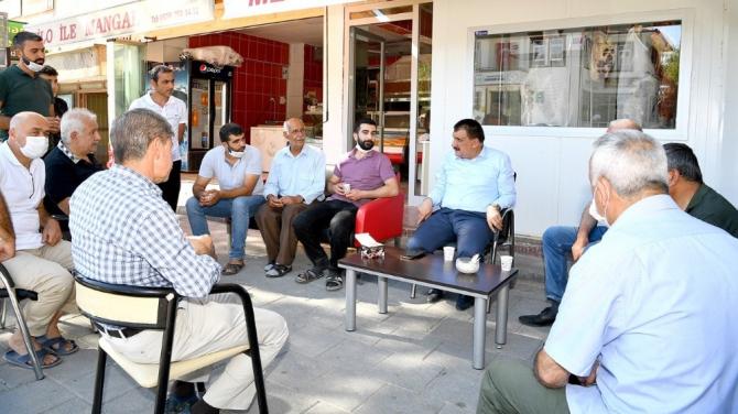 Başkan Gürkan, Dilek Mahallesi'nde inceleme yaptı