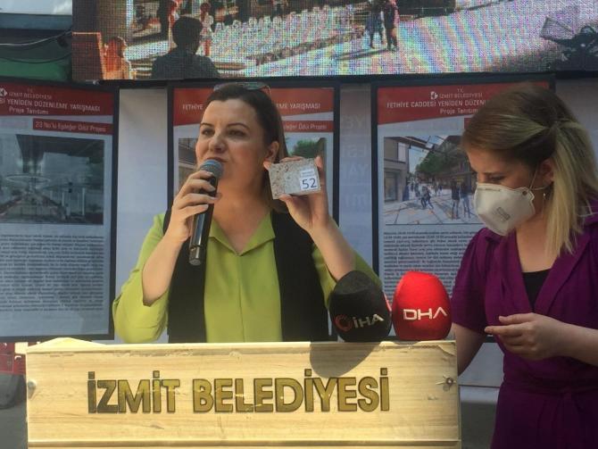Fethiye Caddesi için hazırlanan projeler vatandaşlara tanıtıldı