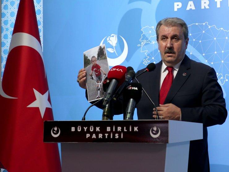 BBP Genel Başkanı Destici, barolara ilişkin düzenlemeyi değerlendirdi: