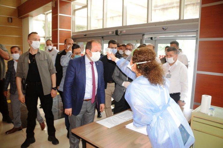 Cizre'de Kovid-19 vakaları düşüşe geçti