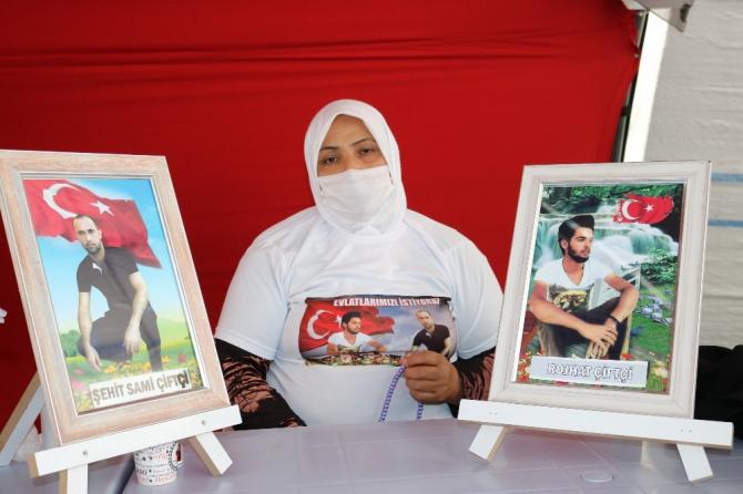 HDP önündeki ailelerin evlat nöbeti 303'üncü gününde