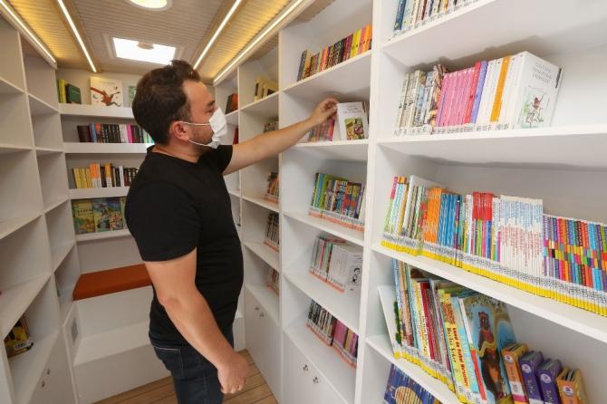 """Gezici Kütüphane"""" herkesi kitapla buluşturacak"""