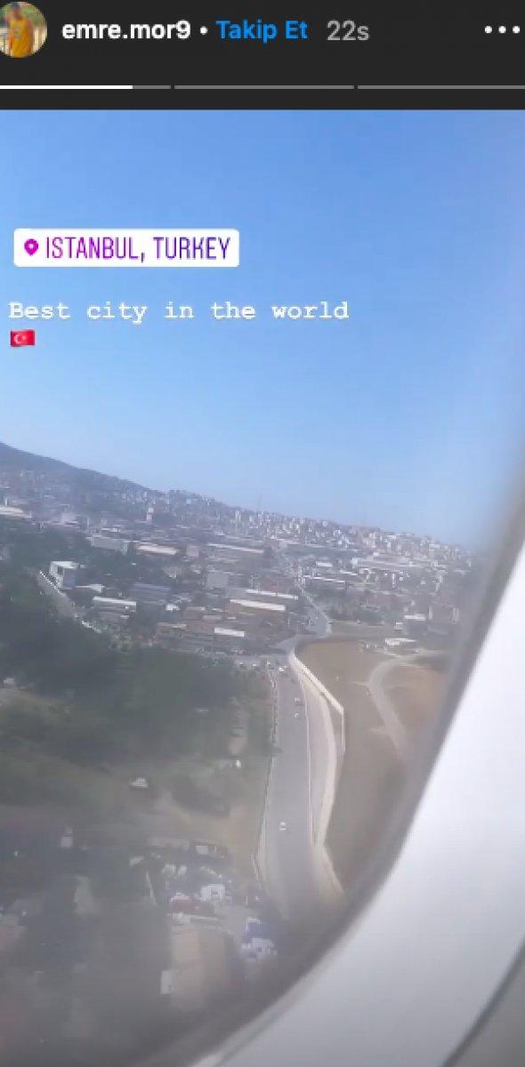 Emre Mor yeniden İstanbul'da!