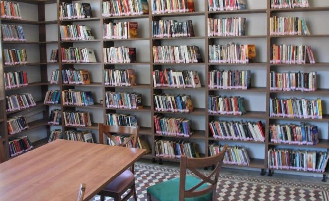 Tarihi hükümet binası kütüphane oldu