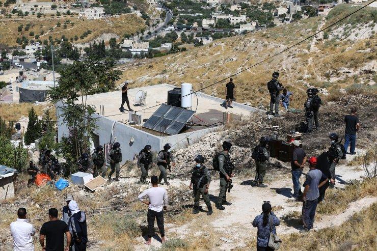 İsrail Doğu Kudüs'te Filistinlilere ait bir evi yıktı