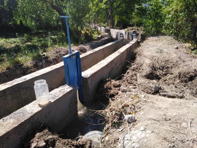 Karabük'te sulama tesisi onarım çalışmaları sürüyor
