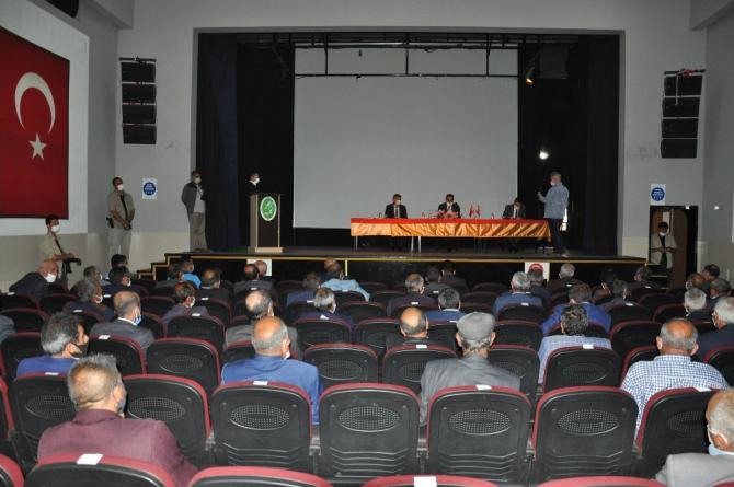 Kars'ta Vali Öksüz Başkanlığı'nda KÖYDES toplantısı yapıldı