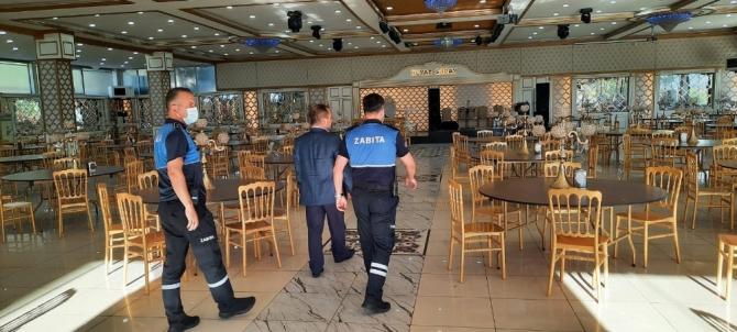 Kırıkkale'de düğün salonları denetlendi