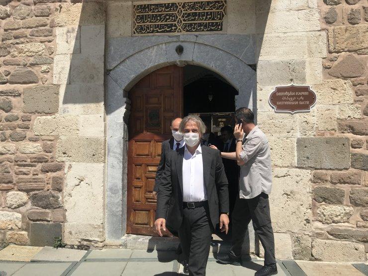 Kültür ve Turizm Bakan Yardımcısı Demircan, Konya'da incelemelerde bulundu