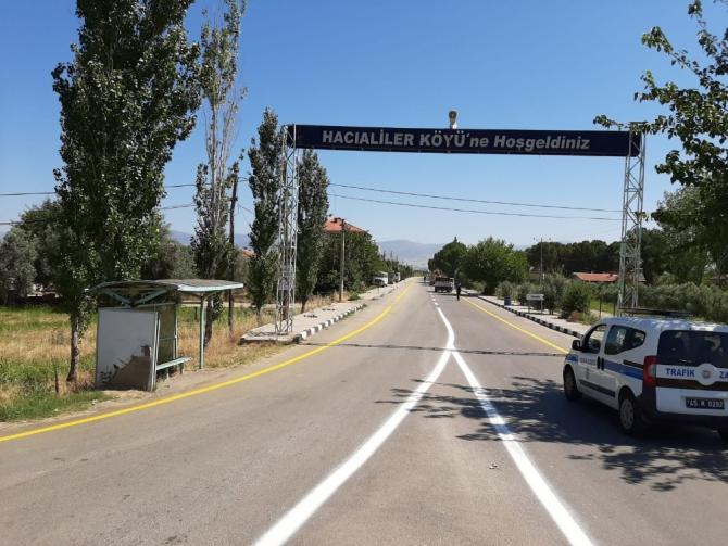 Manisa'nın dört bir yanında asfalt ve yol çalışması