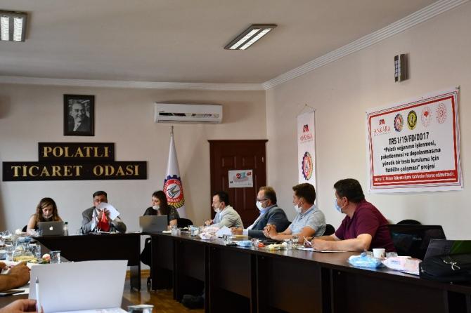 Polatlı'da soğan işleme tesisi kurulma çalışmaları hız kazandı