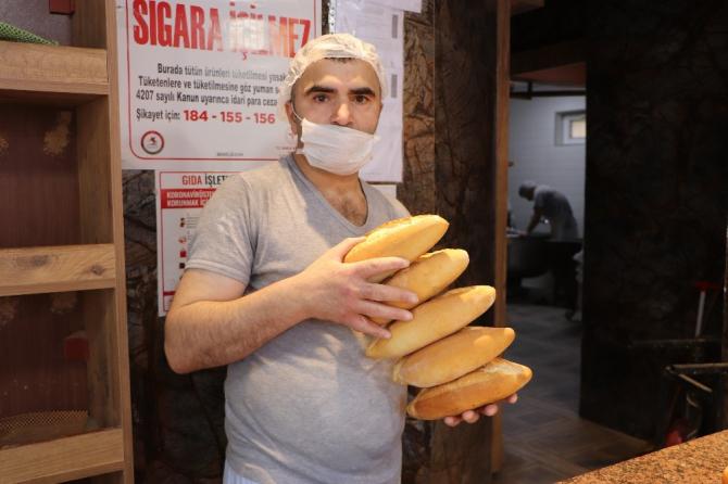 Ekmek zammı iptalinden vatandaş memnun, fırıncı şaşkın