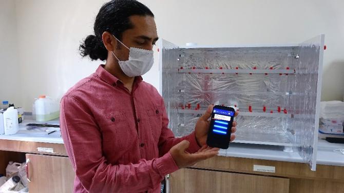 N95 maskesinin sterilizasyonu için üretildi, ilk aşamayı geçti