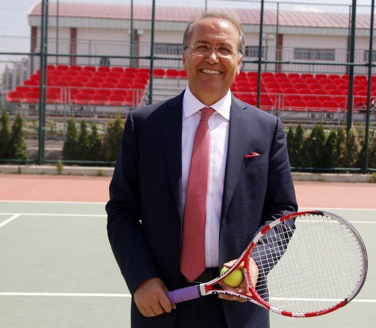 """Tenis Federasyonu Başkanı Durmuş: """"Pandemi sürecinden daha da güçlü çıkacağız"""""""