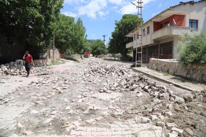 Gölova'da hasar tespit çalışmaları başladı
