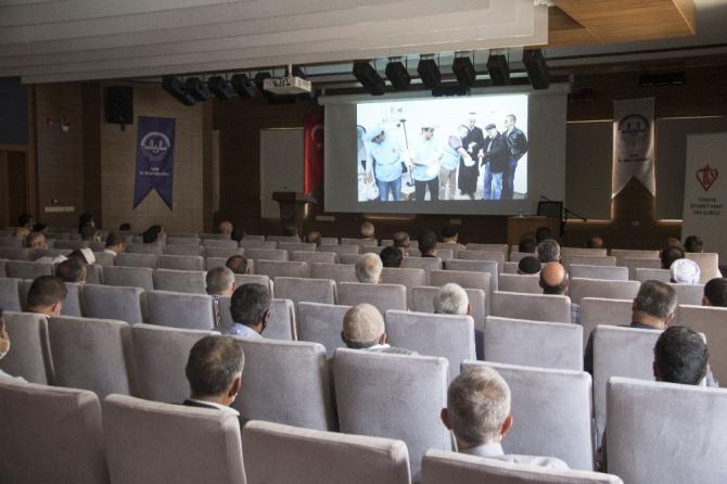 Van'da 'vekâlet yoluyla kurban kesim organizasyonu' toplantısı