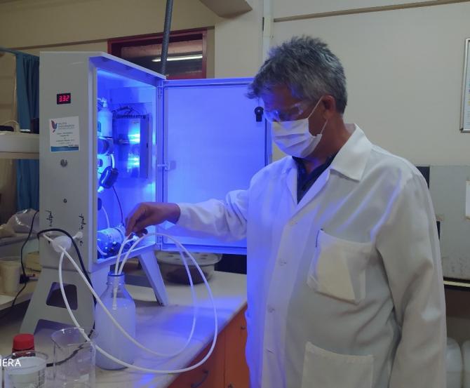 Yalova Üniversitesi doğal dezenfektan üretti