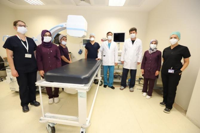 Adıyaman'da ilk defa ERCP işlemi yapıldı