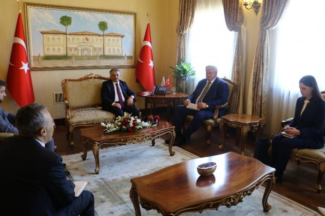 """Ukrayna Büyükelçisi: """"Antalya'da güvenli turizm için her şeyin hazır olduğuna inanıyorum"""""""