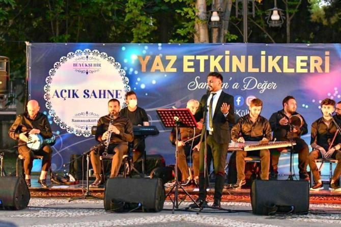 Samsun'da 'Açık Sahne' konseri