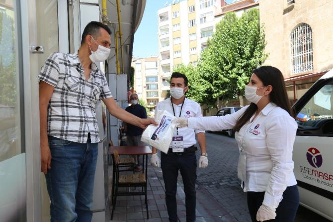 Efeler Belediyesi'nden berber ve kuaförlere destek