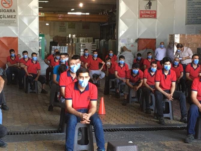 200 bin işçiye korona virüs eğitimi