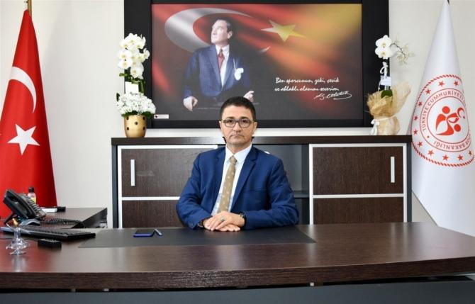Mersin Gençlik ve Spor Müdürü Ökkeş Demir görevine başladı