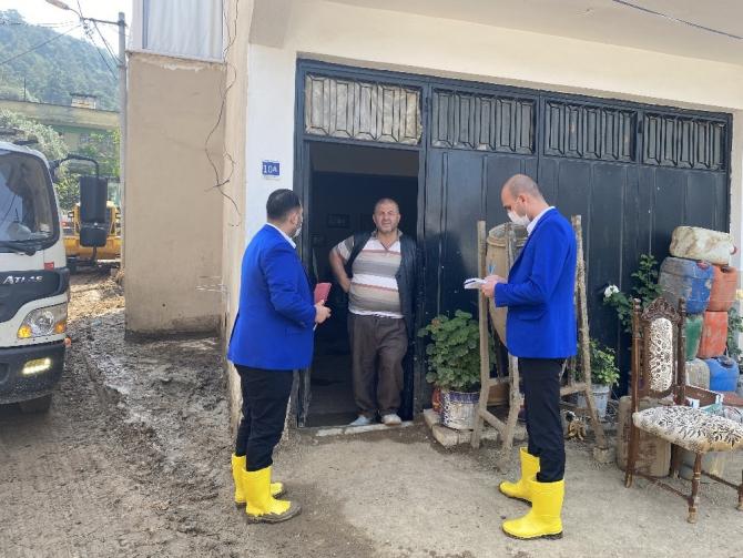 Kestel Belediyesi, afetzedeleri yalnız bırakmıyor