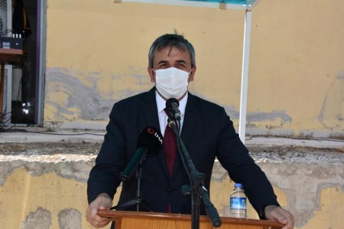 Kırıkkale'de Beton Santrali ve Kilit Parke Üretim Tesisi'nin temeli atıldı