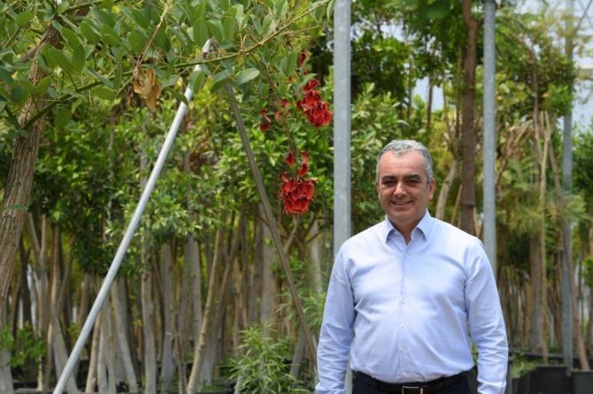 Konyaaltı Belediyesi 6 ayda 110 bin bitki üretti