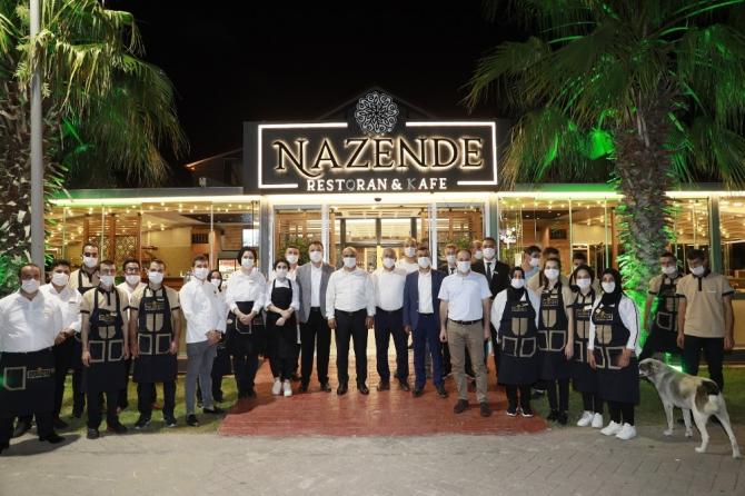 Körfezliler'den Nazende kafeye yoğun ilgi